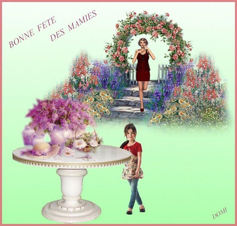 Bonnes fetes a toutes les mamies de france - Les bonnes manieres a table en france ...